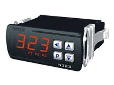 Novus N323 Electronic Thermostats w/ 3 relay outputs