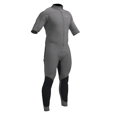 Gul CODE ZERO 3/2mm Flatlock Short Arm Wetsuit 2017 - Metal