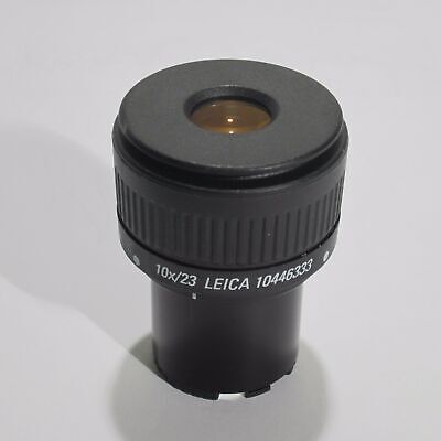 Leica 10X/23 Focusable Microscope Eyepiece For S Series 30Mm 10446333/10 446 333