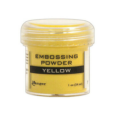 Ranger Ink Embossing Powder ~Yellow~ 1oz Jar