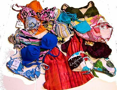 Grab Bag Lot of 20 Sunsets Swimwear Separates Tops and Bottoms NWT$39-$50 ea
