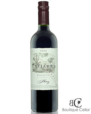 2006 Tatiarra Culled Barrel Shiraz Red Wine 750ml