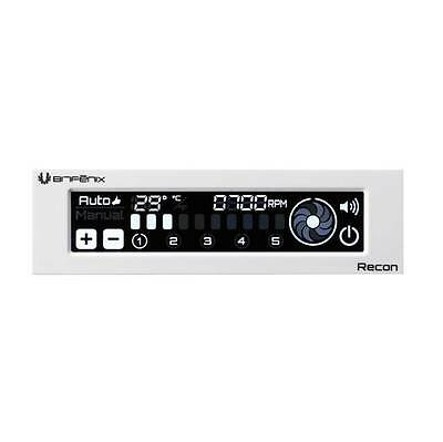 New Bitfenix Recon BFA-RCN-WS-RP Fan Controller w/ Internet Connection (White)