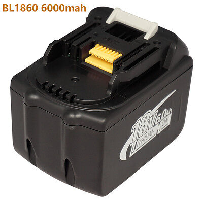 For New Makita 18V 6000mAh BL1860 LXT Li-Ion Compact Battery Makita battery