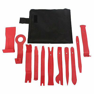 Car Door Trim Panel Dash Installer Remover Removal Wedge Pry Tool Kit Set AU
