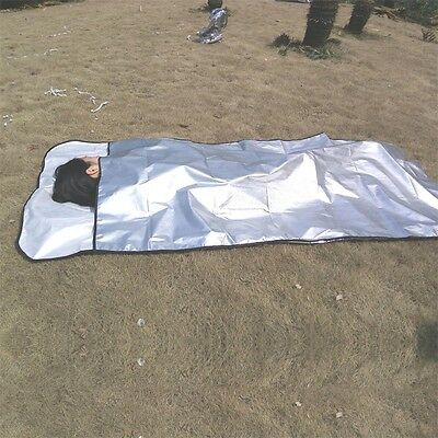 New Emergency Blanket Survival Rescue Insulation Curtain Outdoor Life-saving AU