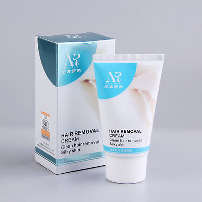 Unisex Herbal Permanent Hair Removal Cream Stop Hair Growth Inhibitor Remover AU