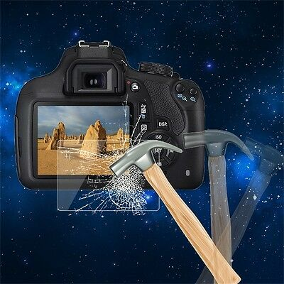 Tempered Glass Camera LCD Screen HD Protector Cover for Canon 1200D AU