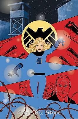 Shield #4 (2015) 1St Printing Women Of Marvel Variant Cover Bagged & Boarded