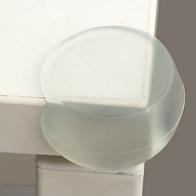 Table Corner Cover Baby Kid Safety Silicone Right Angle Furniture Protector AU