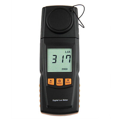 GM1020 LCD Display Digital Lux Light Meter Photometer Up to 200,000 Lux AU