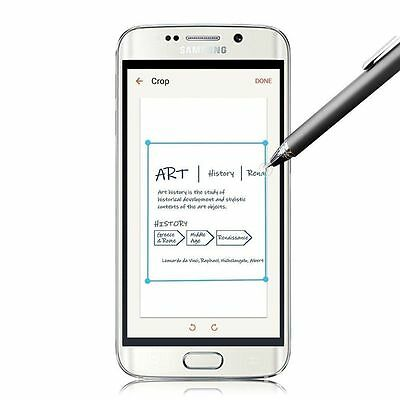 Fine Precision Round Capacitive Touch Pen Stylus For Samsung Galaxy S6 S7 Edge