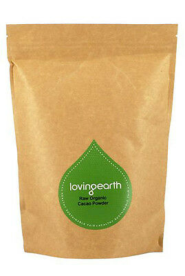 Loving Earth Organic Cacao Powder 1kg