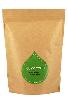 Loving Earth Raw Organic Cacao Powder 1kg