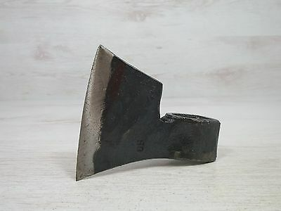 1,20 Lbs Rare German Quality Forged Axe Head Hatchet With Sign