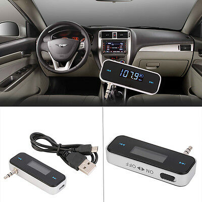 Wireless Bluetooth FM Transmitter MP3 Player Car Kit Charger for iPhone 6 5S AU