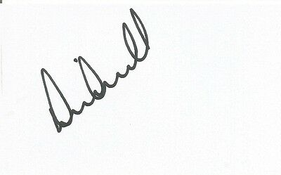 A 5 x 3 inch white card. Personally signed by David Marshall of Cardiff City.