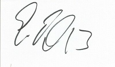 A 5 x 3 inch white card. Personally signed by Eoin Doyle of Cardiff City.
