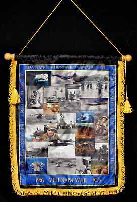 Vietnam War Commemorative Wall Banner Flag