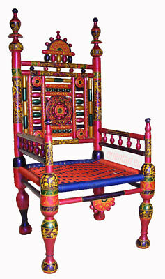 luxuriöse orient Handbemalt Hochzeit Stuhl Pakistan india Wedding chair Rajestan