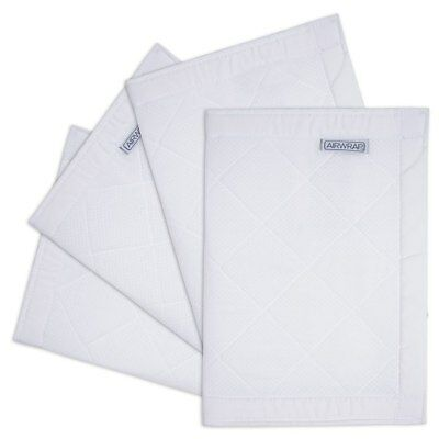 The Little Linen Company - Airwrap Breathable Cotton Muslin - White - 4 Sided
