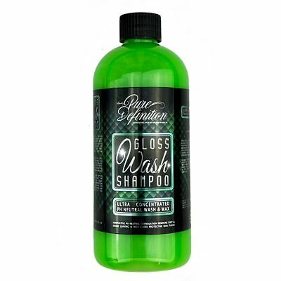 Car Shampoo | Wash & Wax | Gloss Finish Cleaning Detailing 1.6L Pure Definition