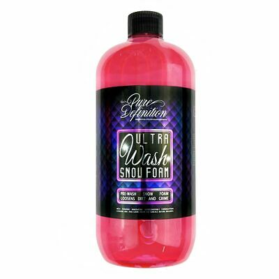 Snow Foam Car Washing Pre Wash Cleaning Auto Cleaning 1.6L Pure Definition