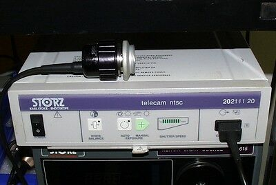 Karl Storz TELECAM 202111 20  Video System w/ 202101 36  for Surgical Microscope