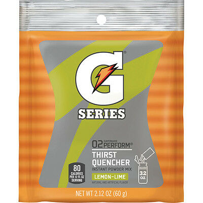 Gatorade Lemon Lime 1 Quart Powder - Thirst Quencher, Instant Mix