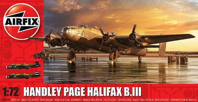 HANDLEY PAGE HALIFAX B.111 AIRFIX 1.72 SCALE KIT No AO60084 NEW AND BOXED