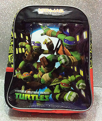 Tmnt Tartarughe Ninja Turtles Zainetto Zaino Backpack School Free Time