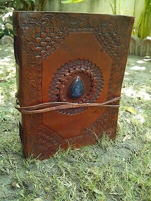 Handmade Leather Journal Lapise Diary Leather Notebook Sketchbook Artist 8x6