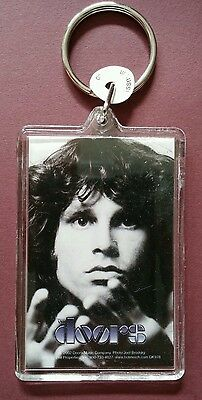 As-Is The Doors B&w Photo Face 2002 Vintage Music Key Chain Keychain