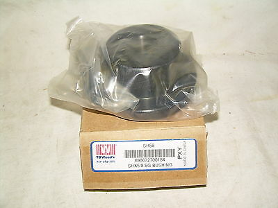 TB WOODS  SH58  QD Bushing   Bore 5/8 In.  NEW IN BOX