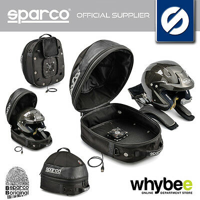 016433NR SPARCO BLACK COSMOS DRY BAG for RACING HELMET & HANS DEVICE 35x40x35cm