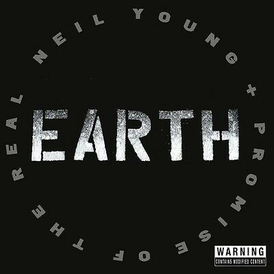 Earth - 2 DISC SET - Neil / Promise Of The Real Young (2016, CD NUOVO)