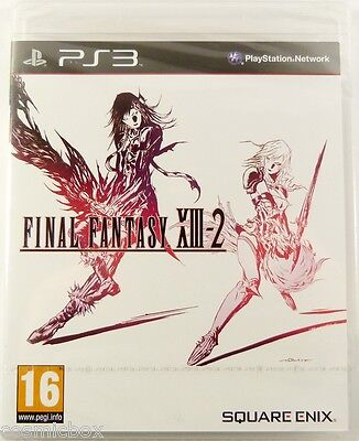 FINAL FANTASY XIII - 2 jeu video pour console PlayStation 3 SONY neuf blister 13