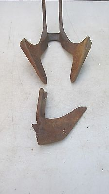 Vintage Iron Age  Seeder Opening Shoe and Closer