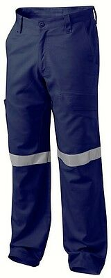 BNWT King Gee Drill Trouser Hi Vis Size 122s