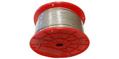"""7X7 HDG Galvanized Aircraft Cable, 3/32"""" X 250'"""