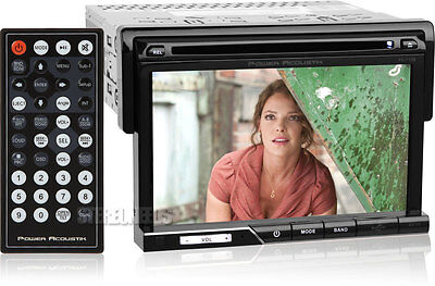 "Power Acoustik Pd-710B Car 7"" Touchscreen Cd/dvd/usb/sd Player A2Dp Bluetooth"