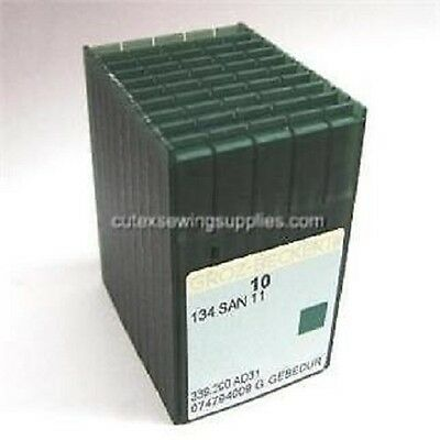 100 Groz Beckert 134 SAN 11 Titanium Quilting Needles