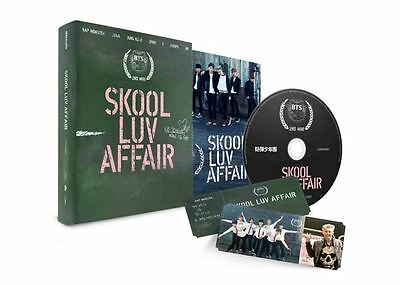 BTS  SKOOL LUV AFFAIR (MINI ALBUM) CD+Photo Booklet  free shipping  bangtan boys