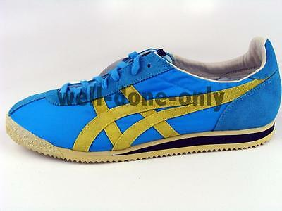 quality design 428ed a2412 ASICS ONITSUKA TIGER Corsair Cortez Vin Hawaiian Blue Yellow mens vtg shoes  NIB