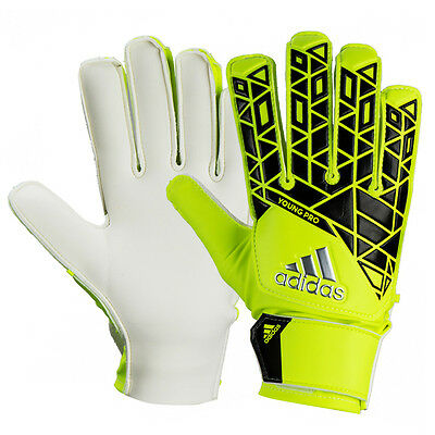 Adidas 2016 Youth Junior Yong PRO GK Goalkeeper Gloves Soccer Football AP7006