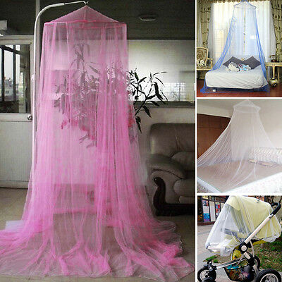 Fly Mosquito Midges Insect Stopping Net Elegent Bed Canopy Netting Curtain Dome