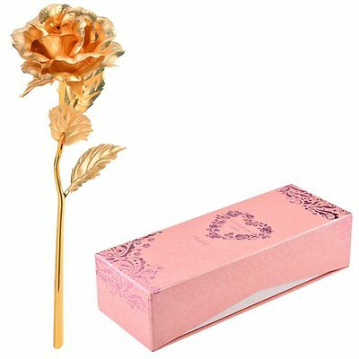 Flower Hot Mother's 24K Gold Rose Valentine's Gift Day Day For Dipped