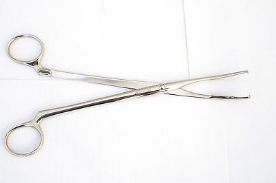 German Surgical Medical Instrument Tool Bott & Walla WW2 WWII FORCEPS ClAMP 19.5