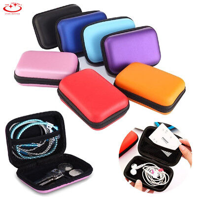 Waterproof Carrying Hard Case Box Headset Earphone Earbud Storage Pouch Bag New
