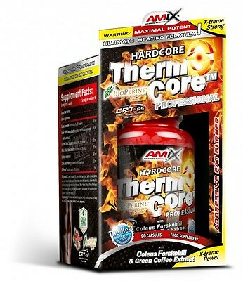 Amix Nutrition Thermo Core 90 caps ** strong as lipo 6, hydroxycut, detonator **